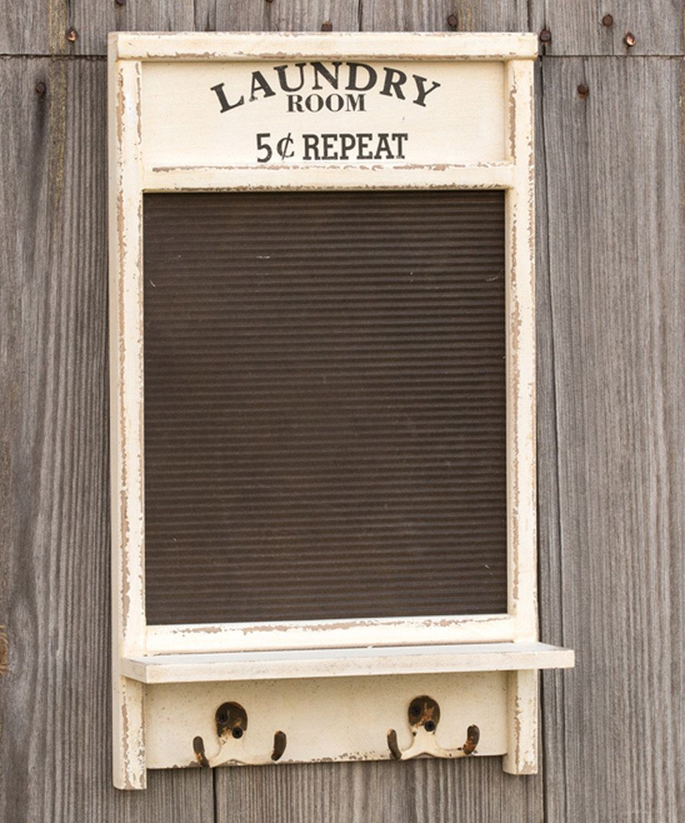 Love This Laundry Room Washboard Wall Hook By Ragon House On Zulily Zulilyfinds Vintage Laundry Room Washboard Decor Laundry Room