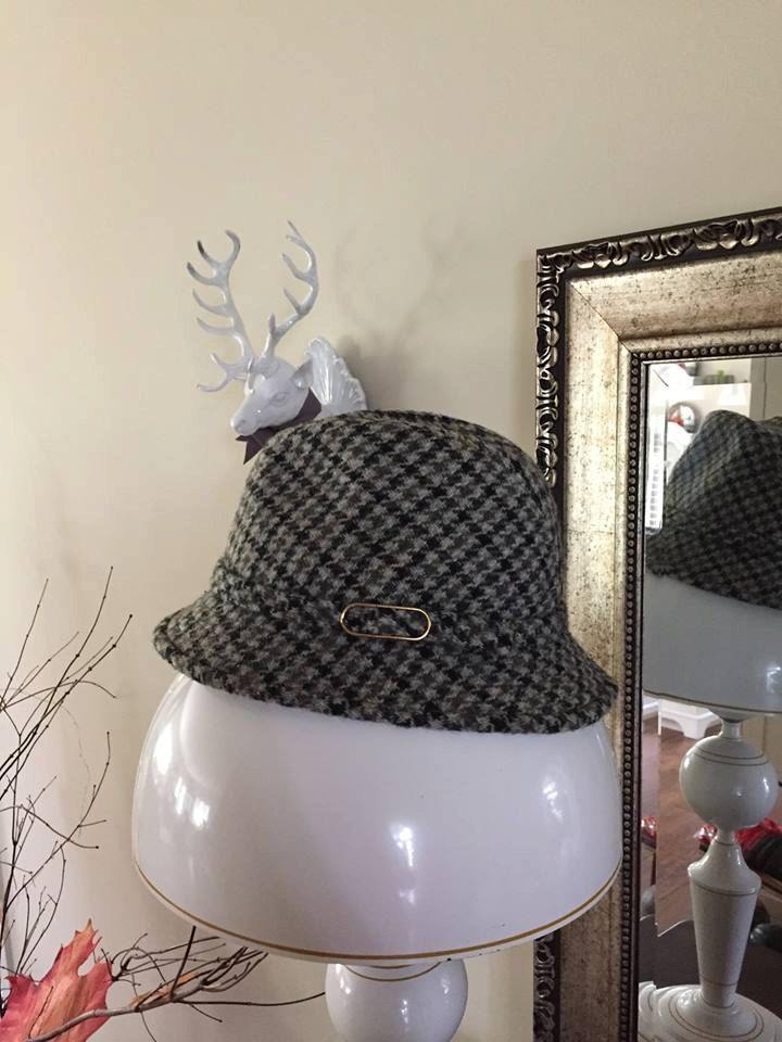 6db71b085adcb Vintage Harris Tweed Hat