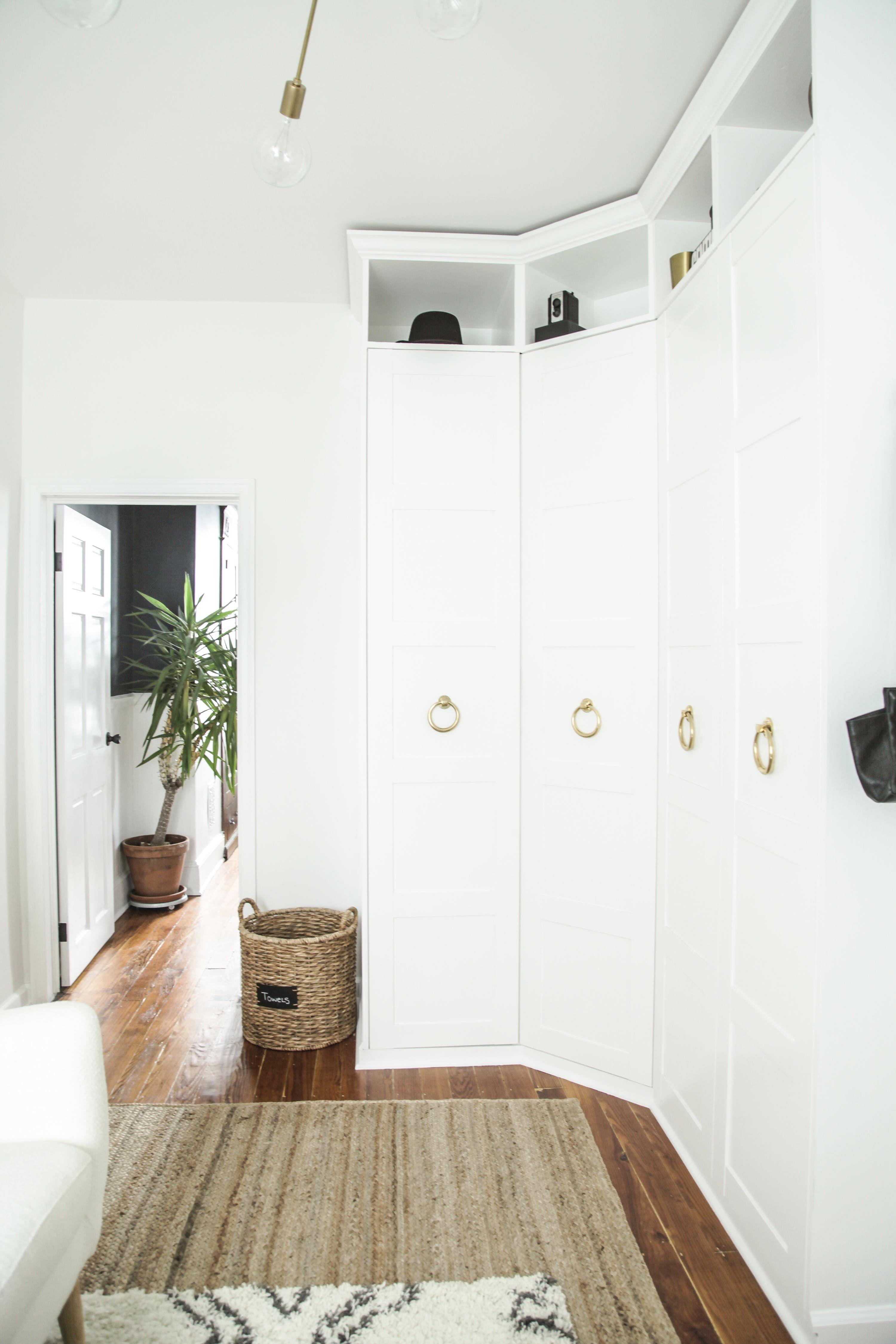 A Bonkers Beautiful IKEA BuiltIn Hack Ikea pax wardrobe