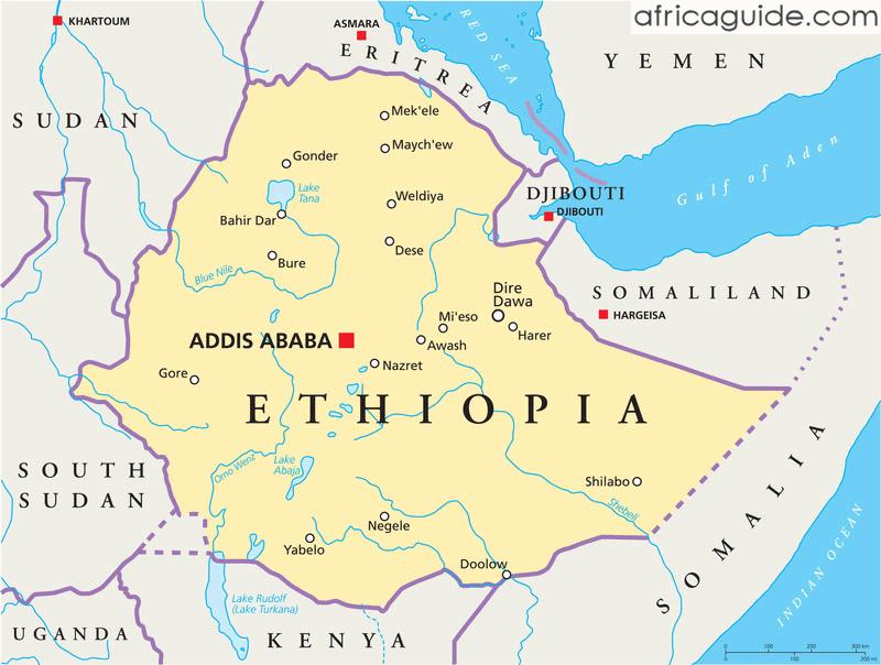 ethiopia map maps Pinterest Ethiopia and Gardens