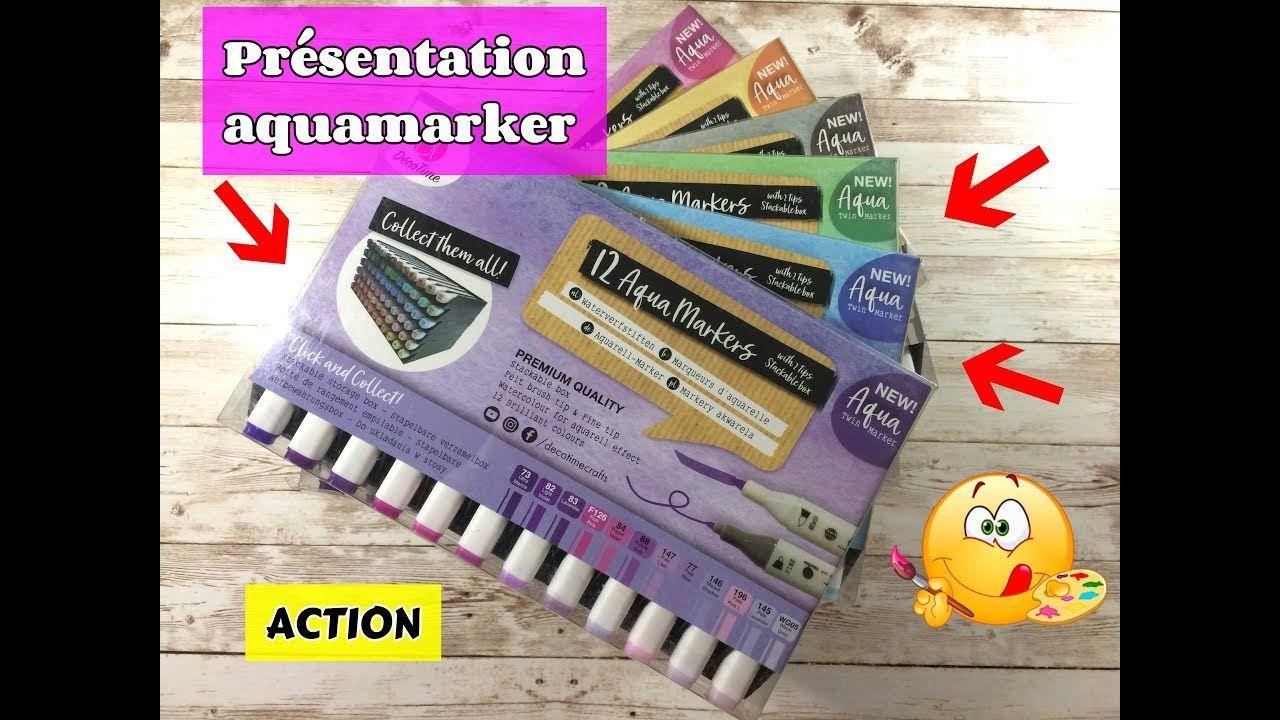 Aquamarkers Decotime Action Presentation Action Coloriage Et