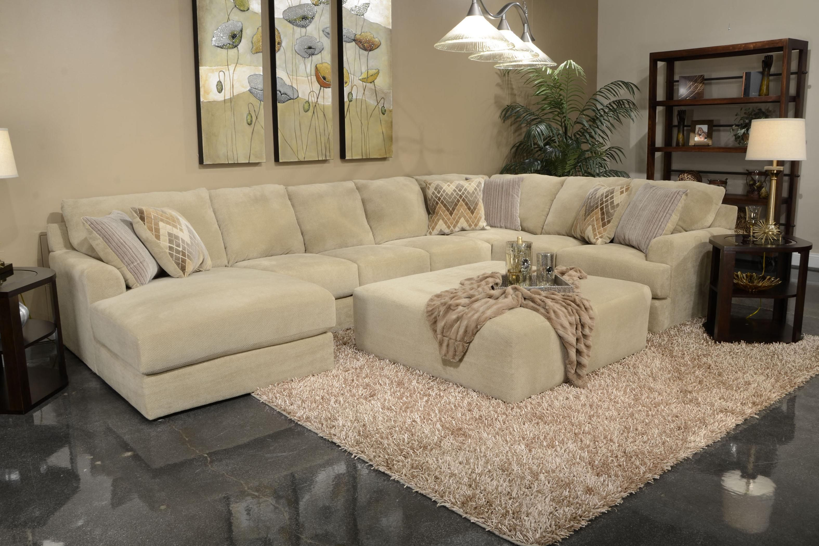 Six Seat Sectional Sofa By Jackson Furniture Wolf And Gardiner