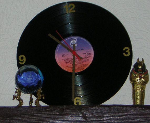 Pye 12 Vinyl Wallclock By Klicknc On Etsy Wall Clock Vinyl Wall Vinyl