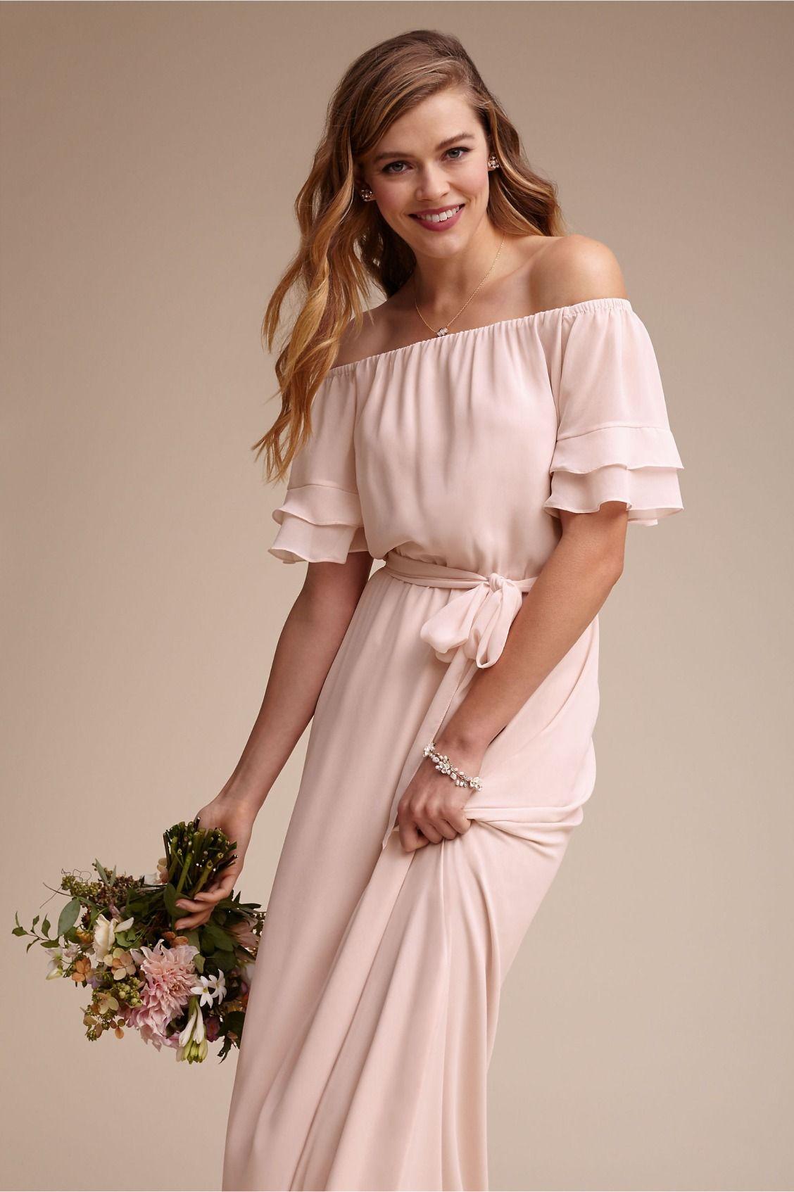 boho maids | Maggie Dress from BHLDN | Novias originales | Pinterest ...