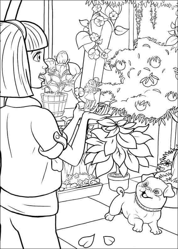 Dibujos para Colorear Barbie Pulgarcita 5   Dibujos para colorear ...