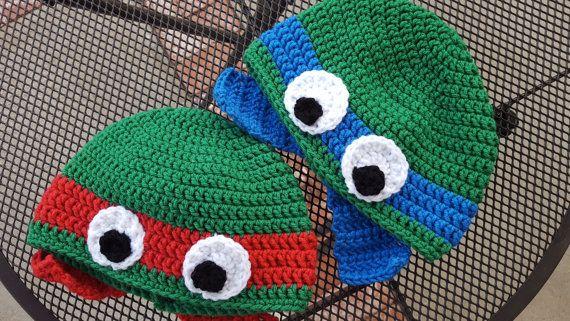 Teenage Mutant Ninja Turtles Crochet Hat Pattern Choice Image