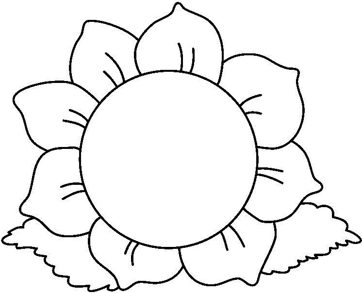 dibujos para colorear Las flores  FLORES  Pinterest