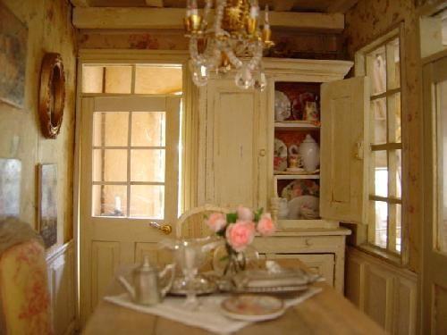 La salle à manger Dollhouse  Miniatures Pinterest Miniature