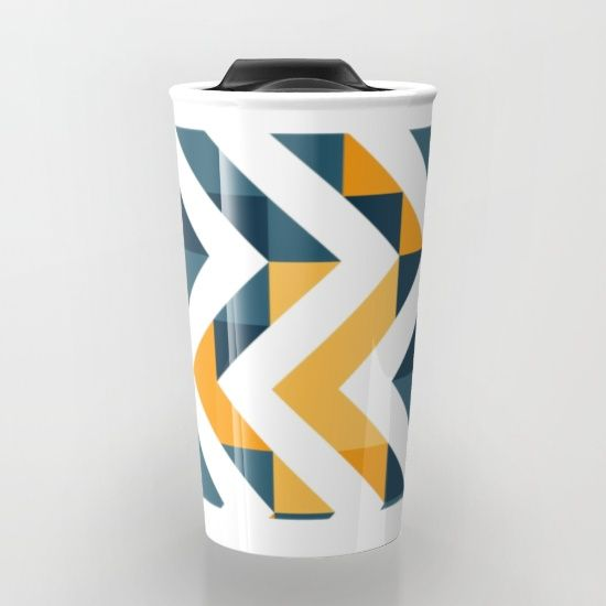 Chevron Design Decoration Motif Mugs Chevron