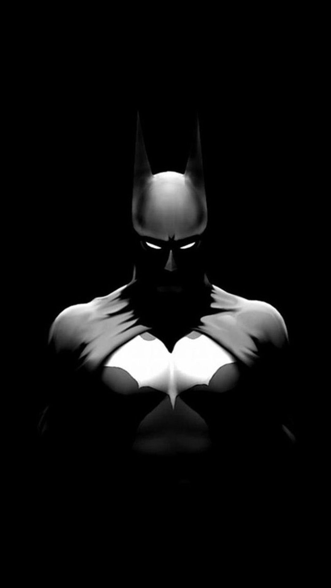 Wallpaper iphone 6 black - Batman In Dark Background Iphone 6 Wallpaper
