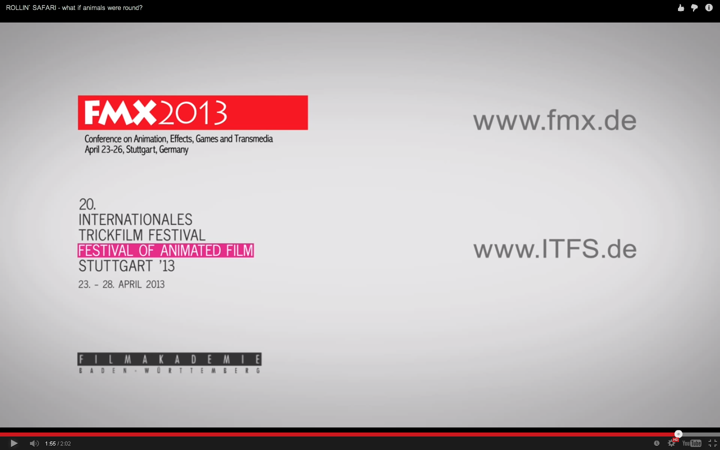 FMX Festival of animated film. May be useful to find relevant advert animation companies.