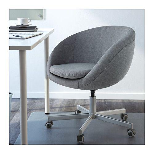 Schreibtischstuhl weiß ikea  SKRUVSTA Drehstuhl, Idhult weiß | Wünsche, Kinderzimmer und Möbel
