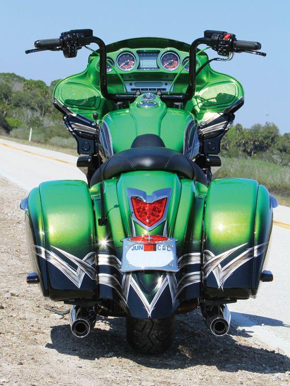 Baggers Dream Ride 2011 Kawasaki Vaquero Motorcycle Magazine