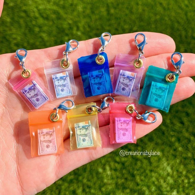 Authentic Miniature Money Bag Charms! (1 Charm)