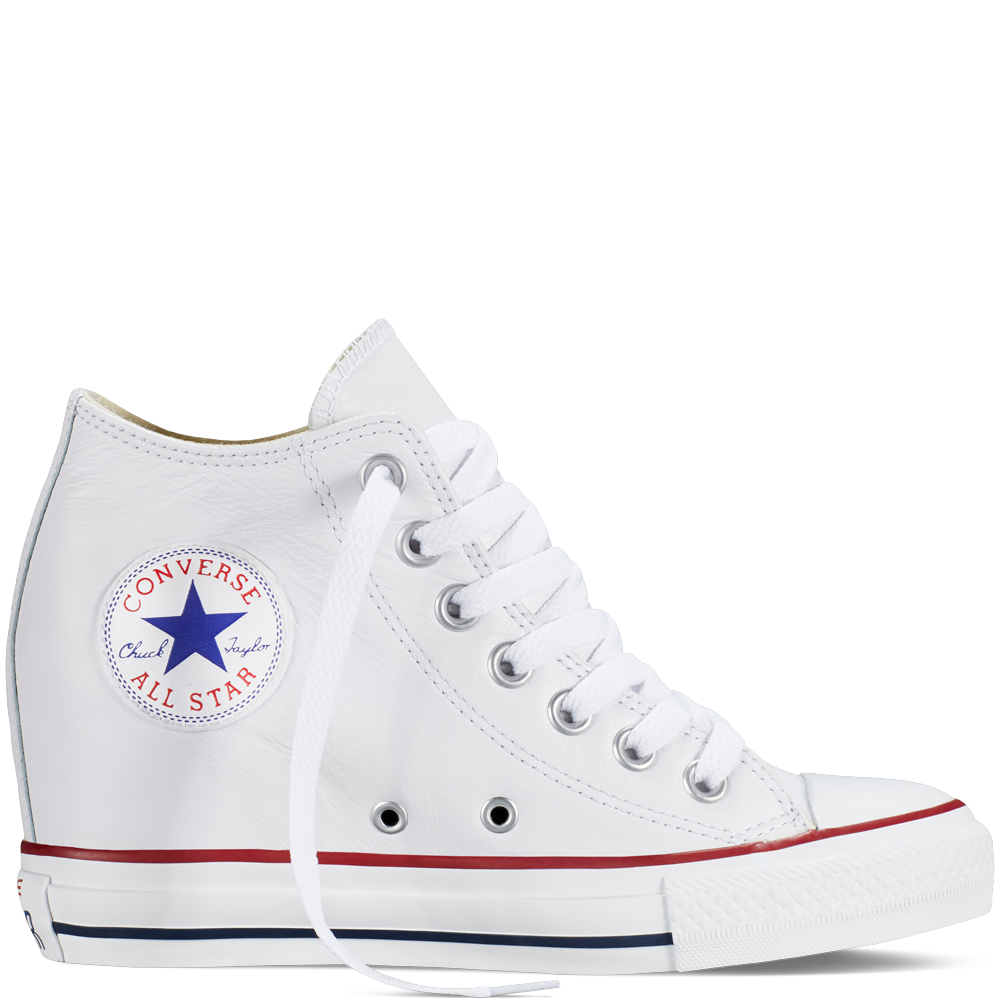 205c328943c1 Chuck Taylor All Star Lux Wedge Leather White white