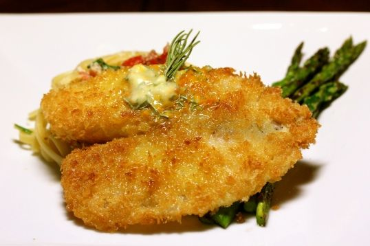Pan-Fried Tilapia with Orange-Rosemary butter