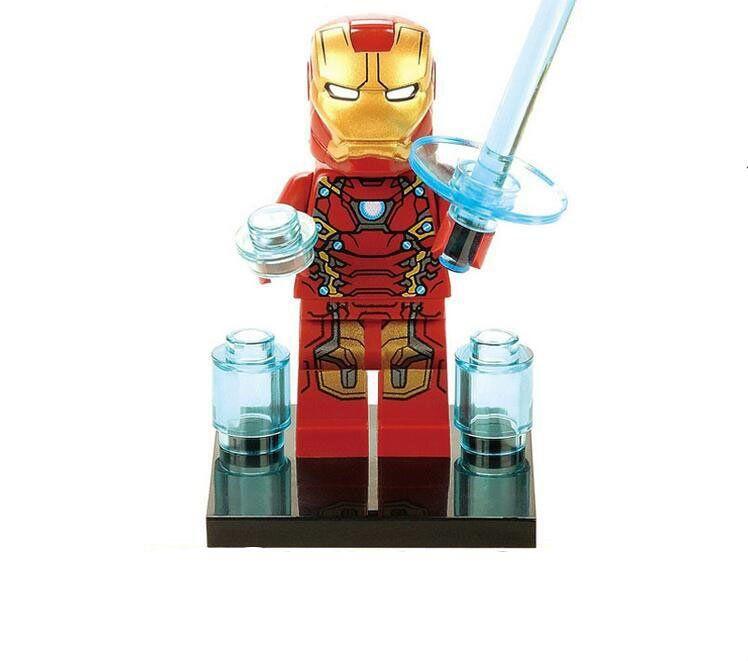 Marvel Universe Building Block Minifigure **NEW** Custom Printed QUASAR