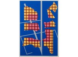 Sam Vanni, 1988, litografia, 61x41 cm, edition TP - Hagelstam A141