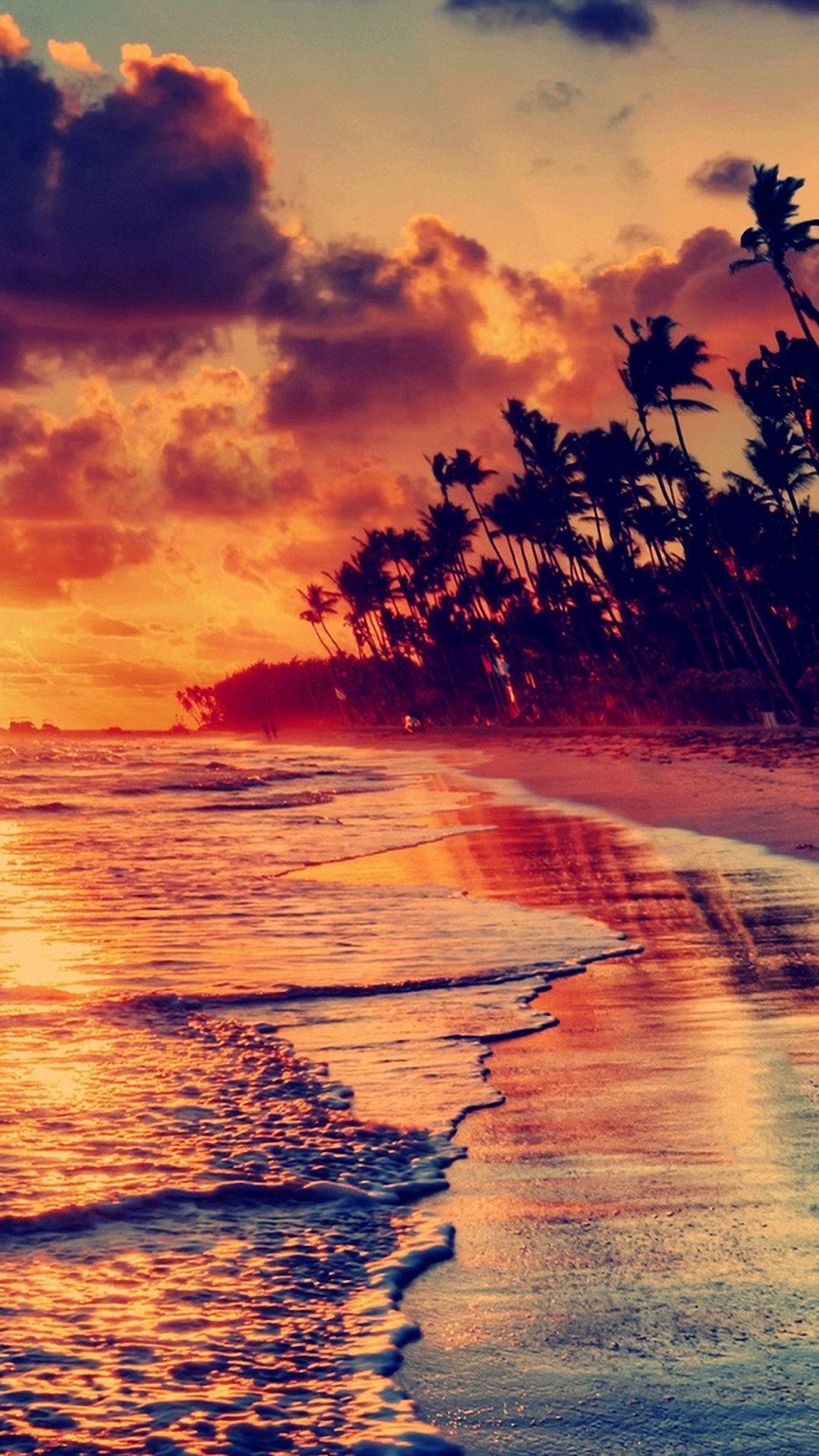 Pretty Sea Beach iPhone 6s Wallpapers HD Fond ecran