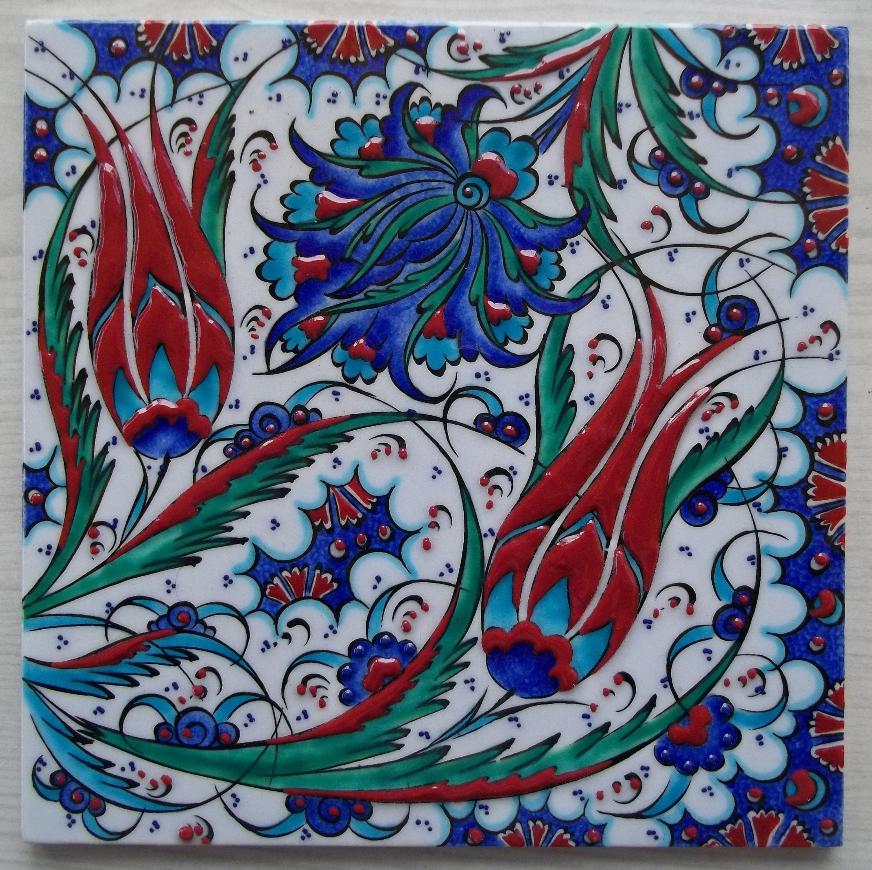Ceramic tile mosaicos pinterest piso de mosaico for Mosaico ceramica
