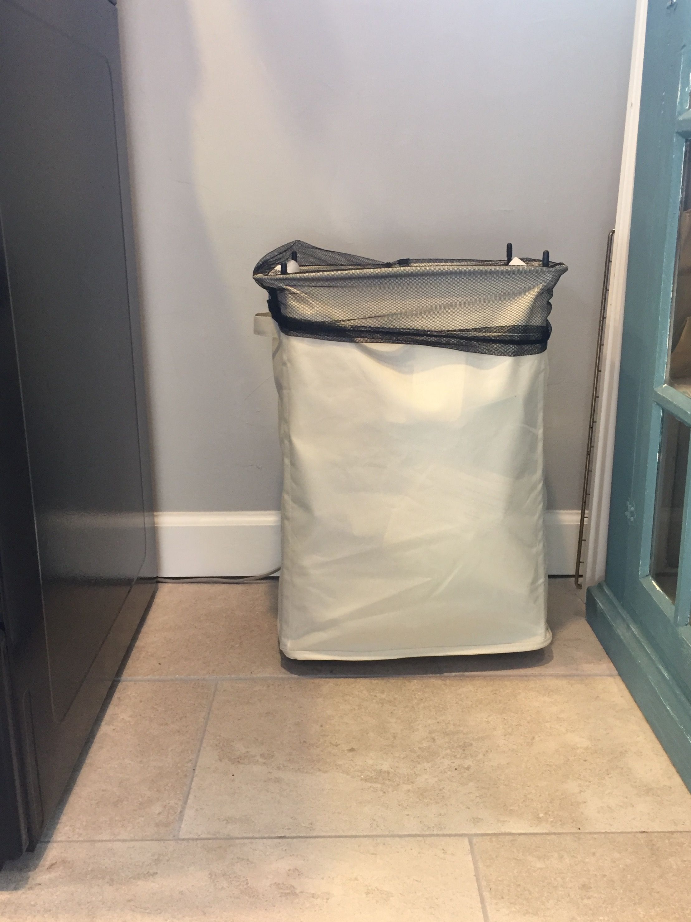 I Use This Laundry Hamper To Hold Recycling Recycling Laundry