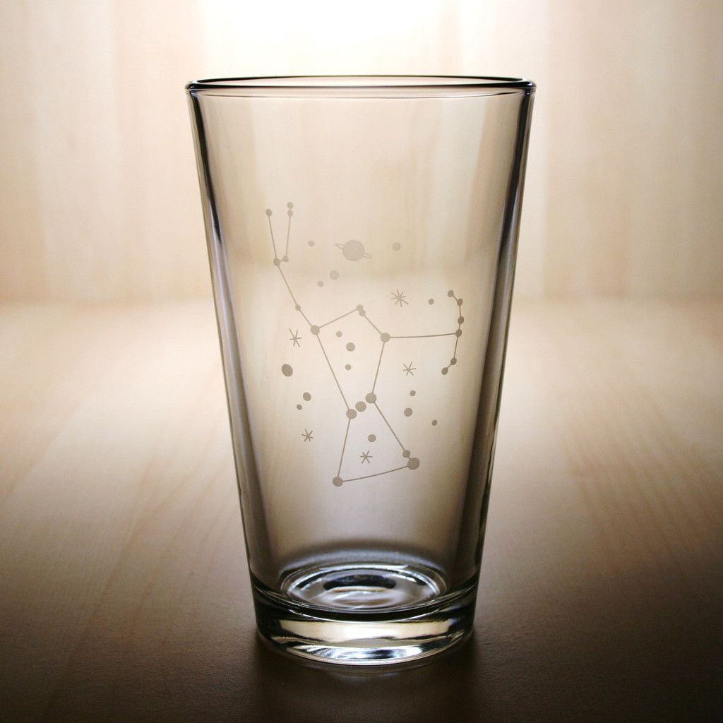 Orion Constellation Pint Glass Apartment