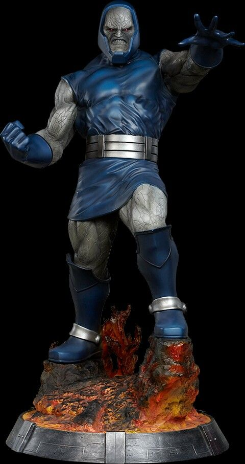 Awesome Darkseid atop a fire pit on the hellish planet ...Apokolips Smallville