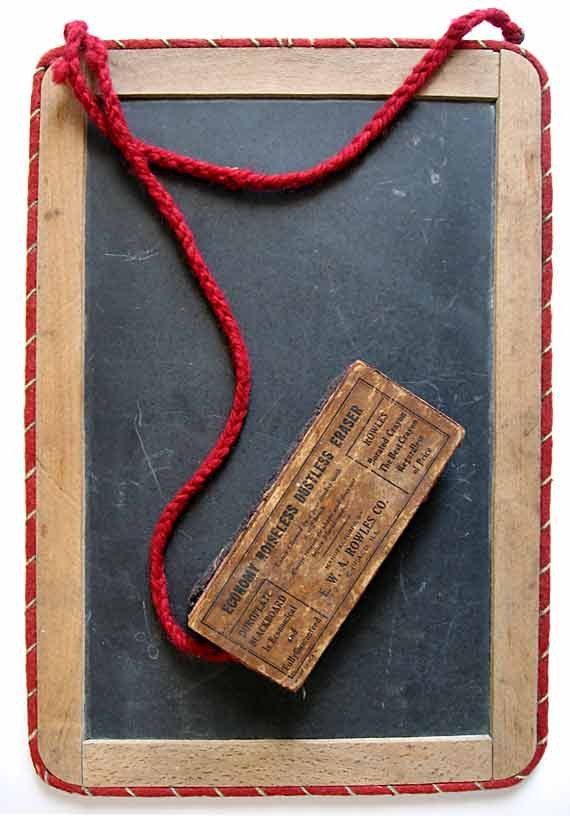 Antique Wood Bound w Red Wool Border by kelleystreetvintage, $58.95