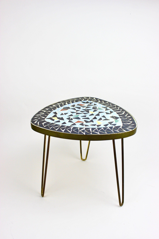 Bastelmaxi Mosaiktisch Tischrohling Tisch 3 Er Set Mit