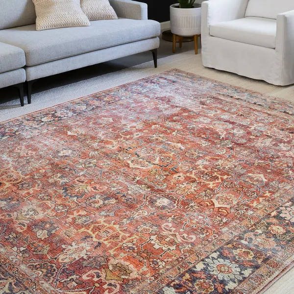 Alexander Home Isabelle Traditional Vintage Border Printed Area Rug In 2020 Area Rugs For Sale Rugs Area Rugs