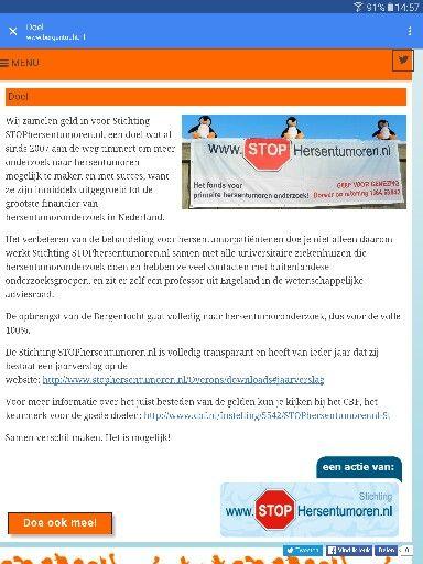 Stop Hersentumoren!