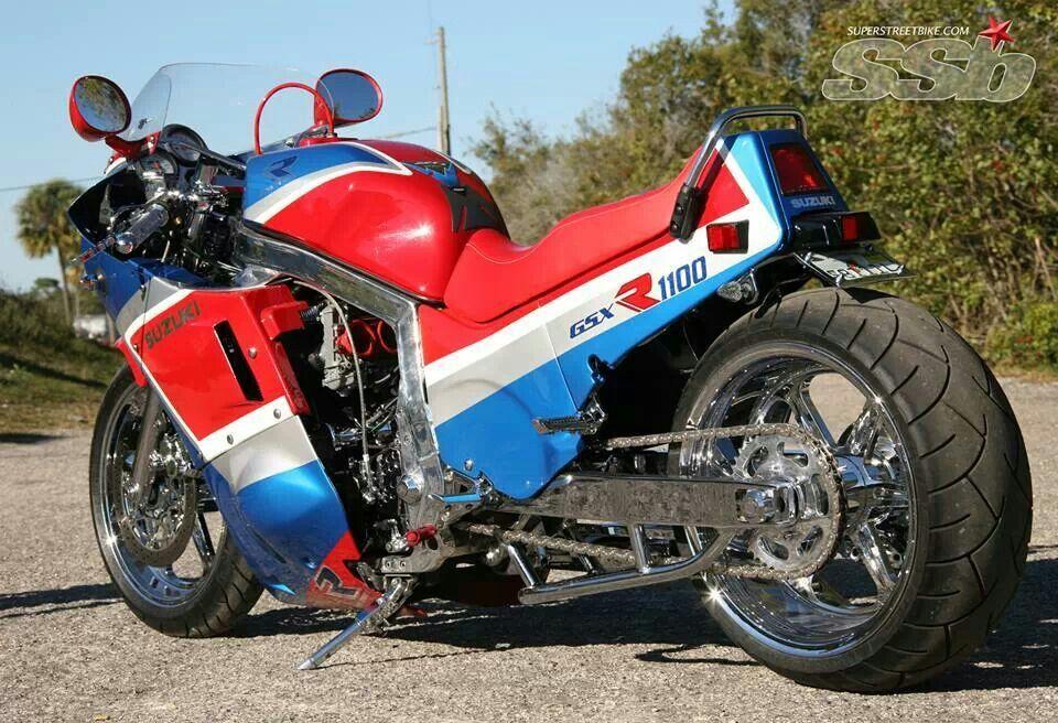 Classic Suzuki Gsxr1100 Custom Custom Motorcycles Bmw Motorcycle Vintage Custom Sportbikes