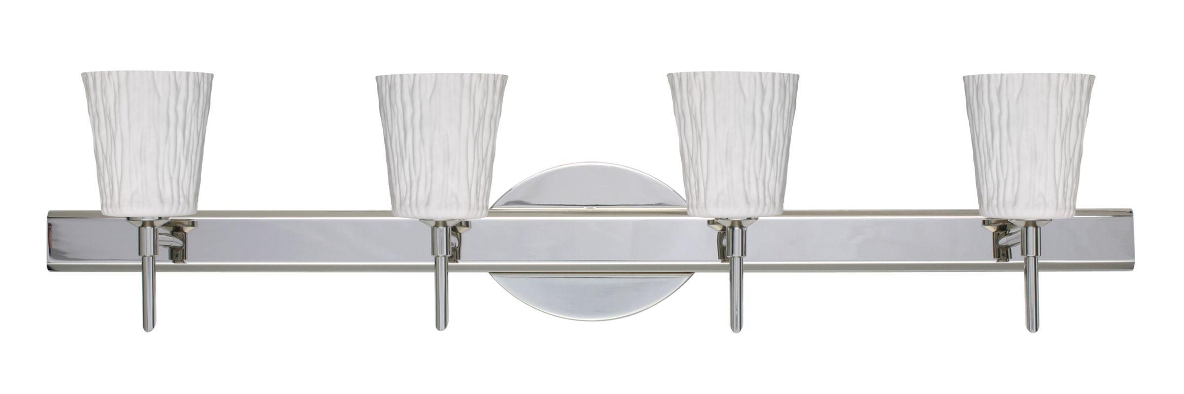 Besa Lighting SWOS Nico Light Reversible Halogen Bathroom - Halogen bathroom vanity lights