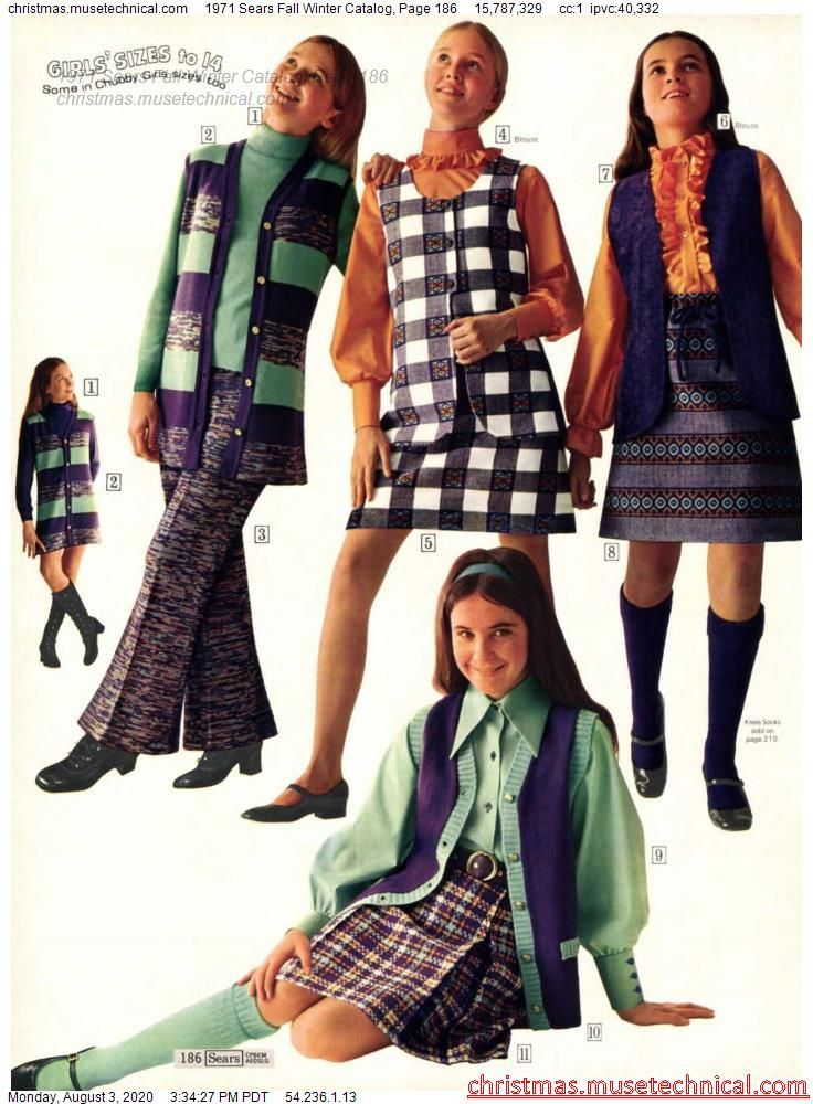 1971 Sears Fall Winter Catalog, Page 186 - Christm