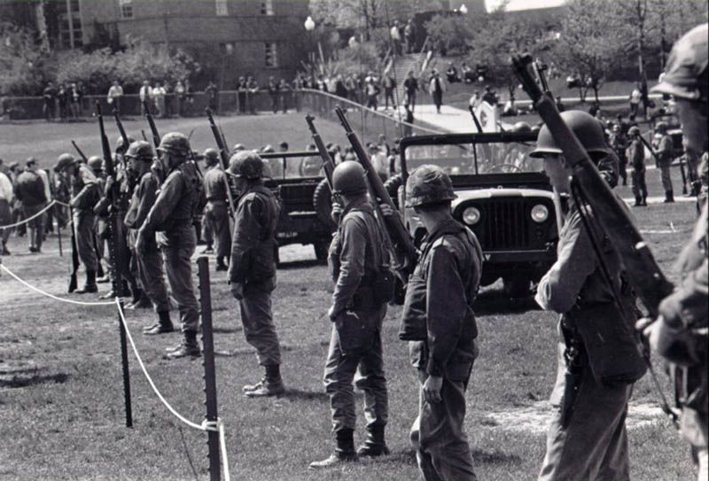 The Kent State shootings - May 4, 1970