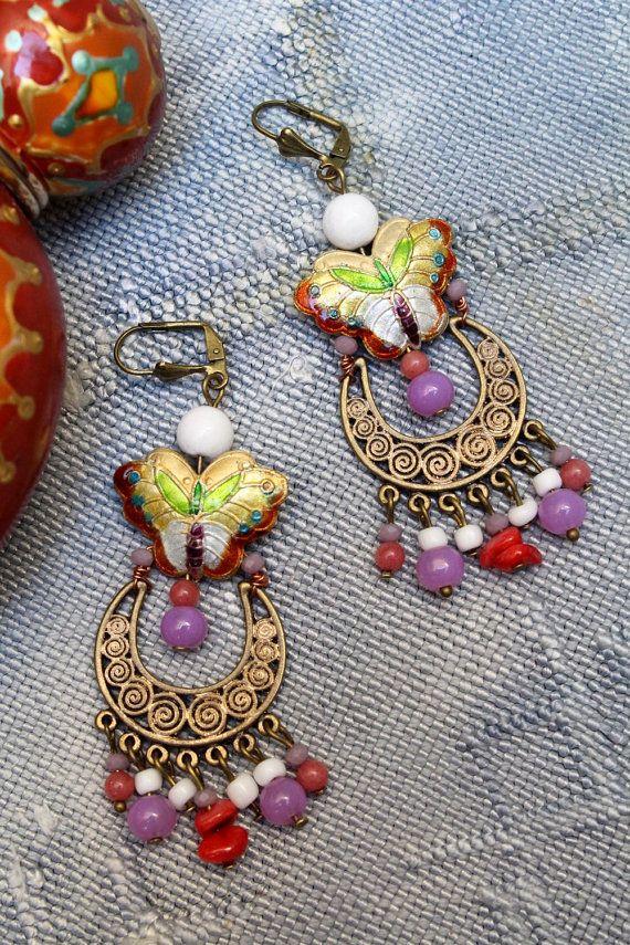 Festival Des B0 No 4 Les Bohemes Croissant De Par Mesodalisques Jewelry Creation My Jewellery Jade Beads