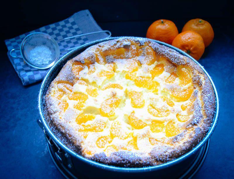 käsekuchen mit mandarinen ohne boden