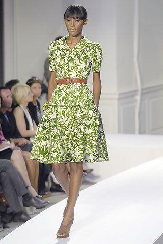Oscar de la Renta Spring 2008 Ready-to-Wear Collection Photos - Vogue