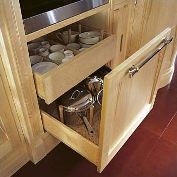 Ampliar foto organizador cajonera bajo mesada cocina for Mesadas de cocina pequenas