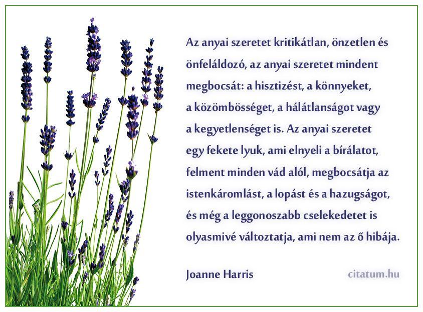 idézetek anyai szeretetről Joanne Harris idézet | Joanne harris, Mothers day, Kids and parenting