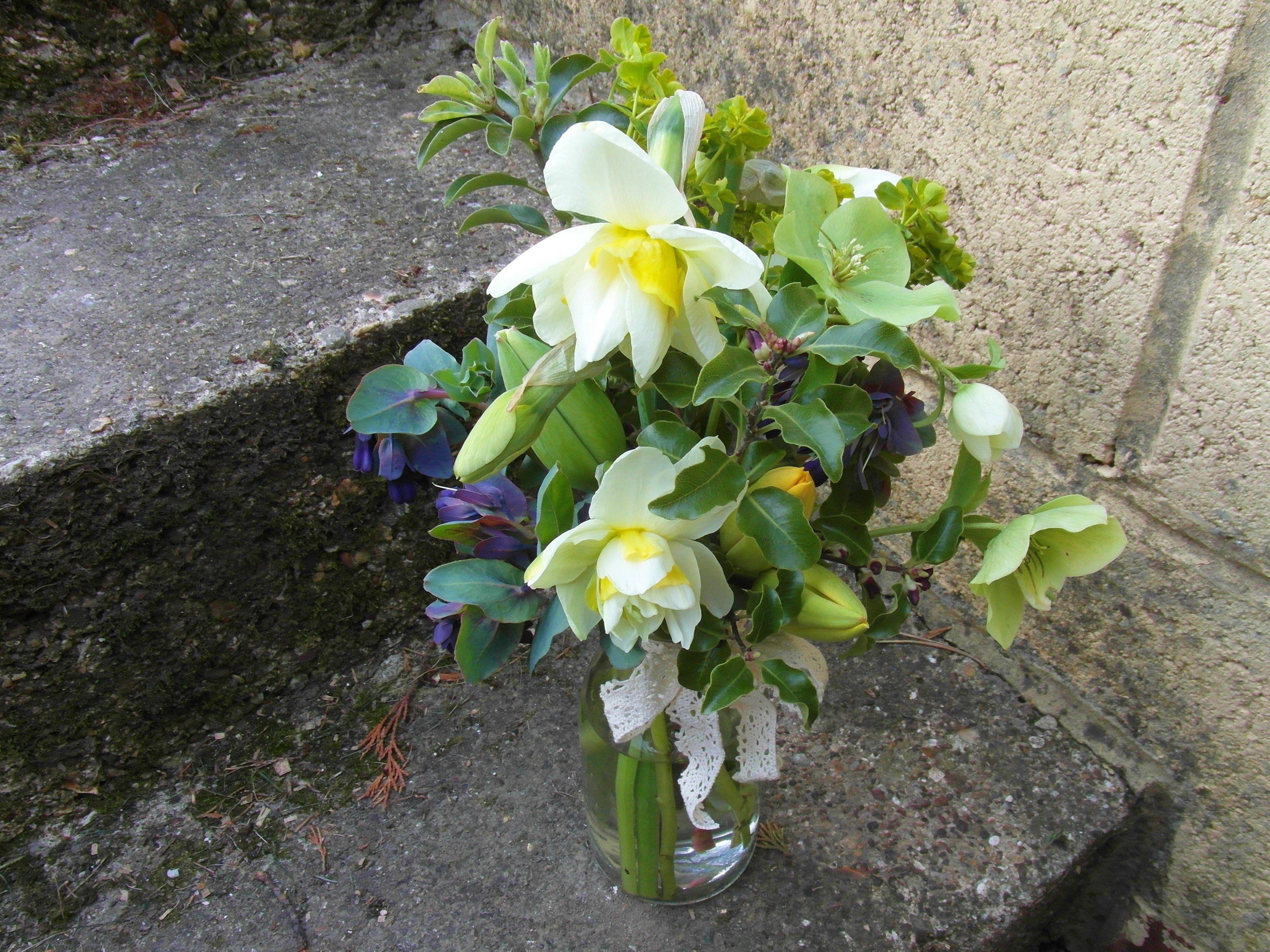 British Springtime Flowers Garden Style Wedding Flowers