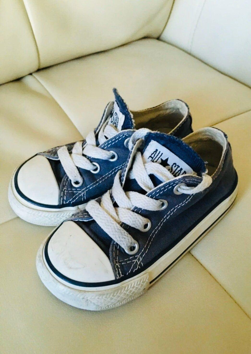 Blue Converse Shoes Toddler Infant 7