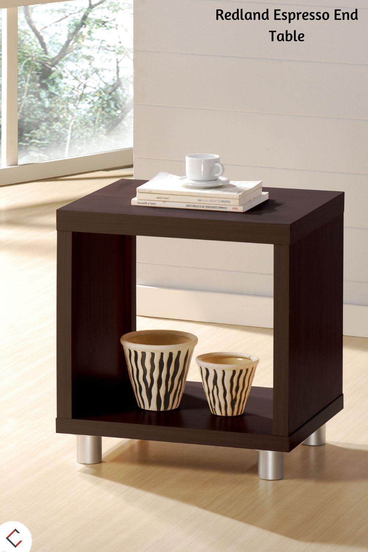 Acme Furniture Redland Espresso End Table In 2020 End Tables Contemporary End Tables Modern End Tables