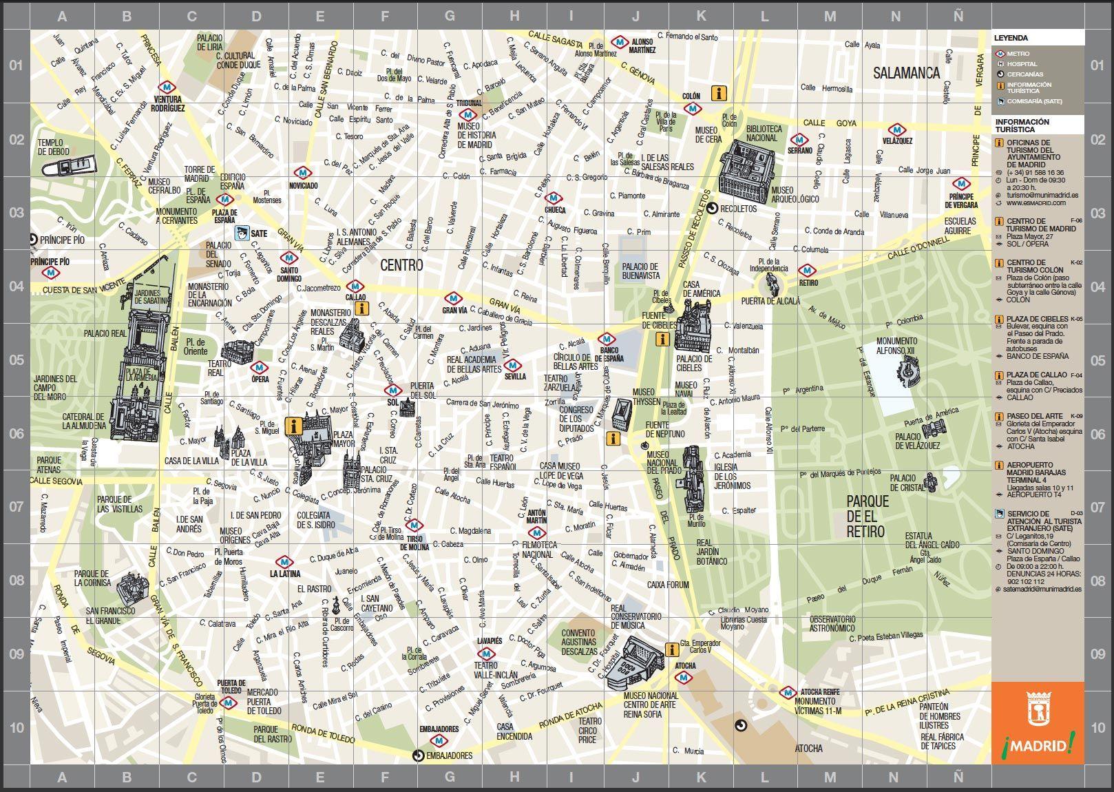 Mapa Puerta Del Sol.Puerta Del Sol Madrid Mapa Buscar Con Google Mapa