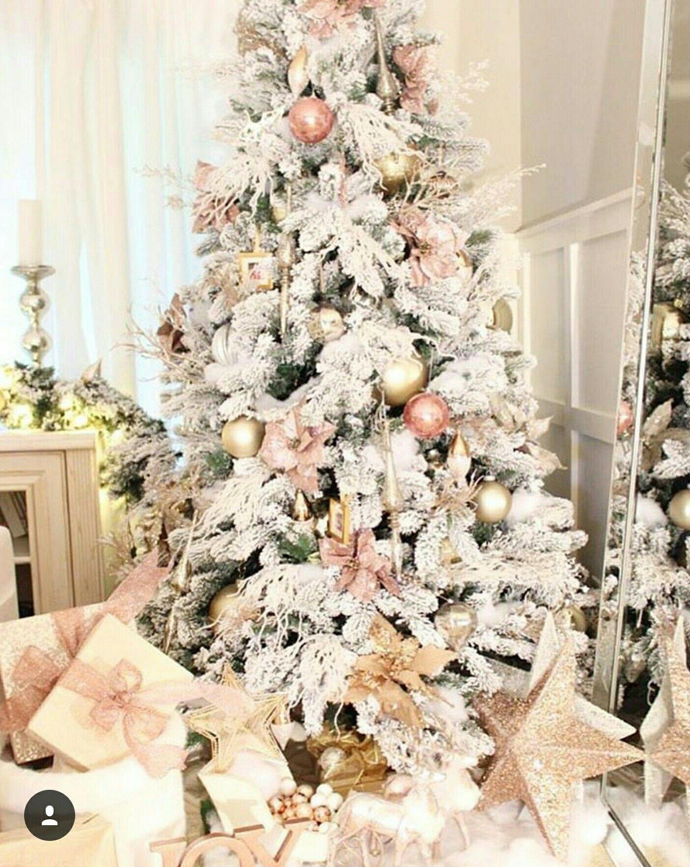 Arbol De Navidad Rose Gold
