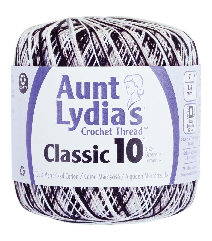 Aunt Lydia\'s Crochet Cotton Classic Size 10 - Delft