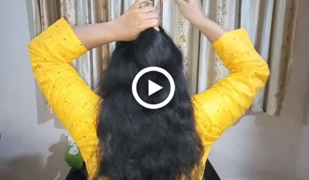 Easy Hairstyles For DIWALI | Hairstyles for Girls 2018 | Hair Style Girl |Indian Youtuber