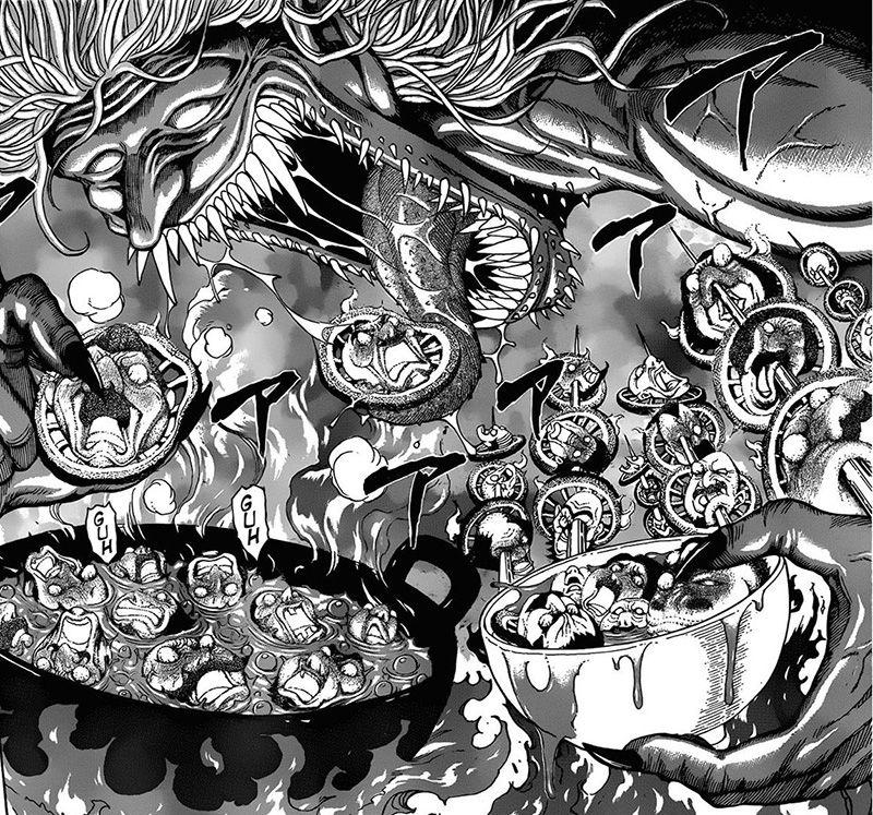 From Toriko, By Mitsutoshi Shimabukuro. A Slightly Above