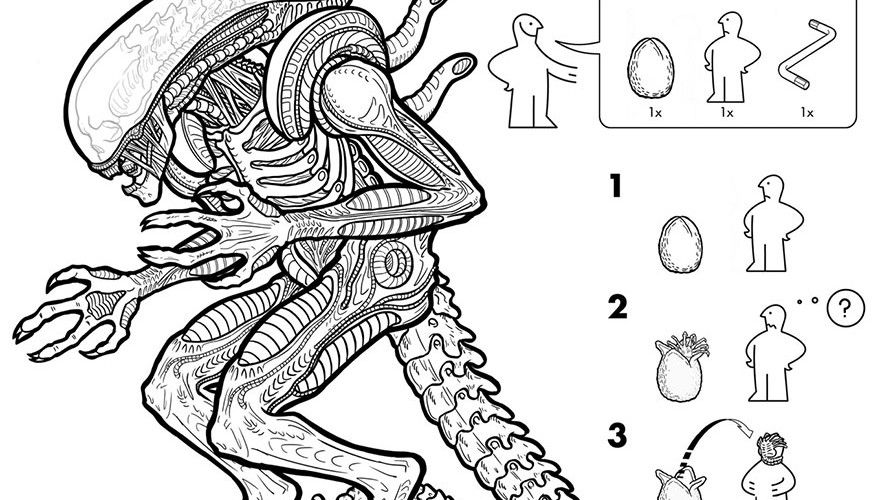 Artist creates an IKEA-style instruction manual on how to create your own monsters » Lost At E Minor: For creative people