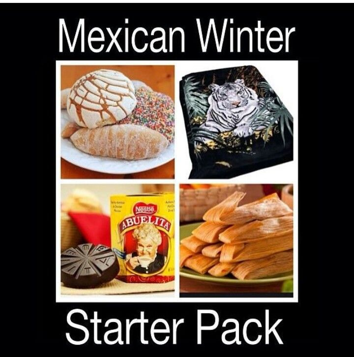 Mexican Winter Starter Pack Funny Mexican Jokes Humor Mexicano